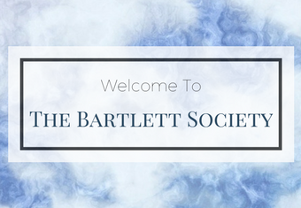 Society of Descendants of Robert Bartlett Welcome banner